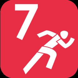 Leichtathletik Siebenkampf